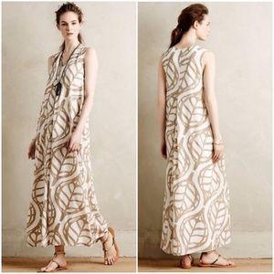 NWT Anthropologie Pera Maxi Dress